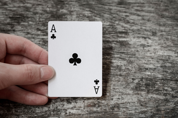 The value of an ace in blackjack